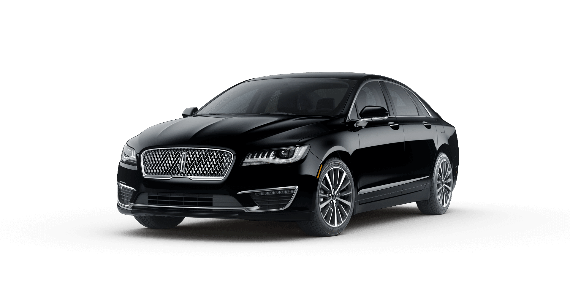 A black Lincoln MKZ