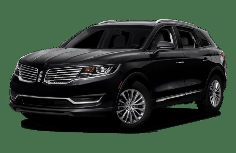A black Lincoln MKX